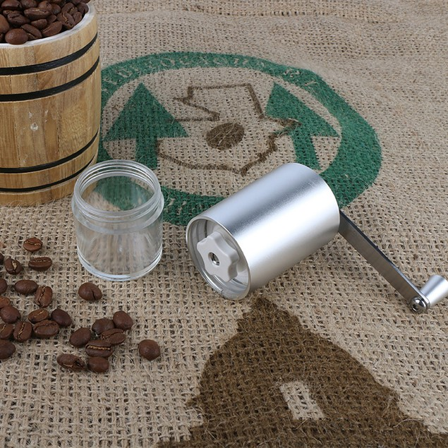 Stainless Steel Manual Coffee Bean Hand Grinder Mill