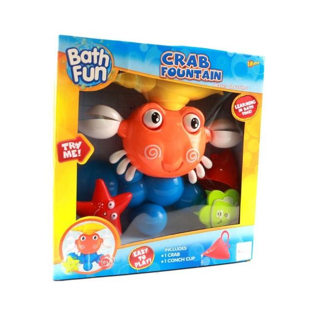 Crab Bath Toy Set