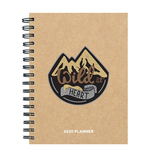 2020 Medium Weekly Monthly Planners-Handsome Kraft Series