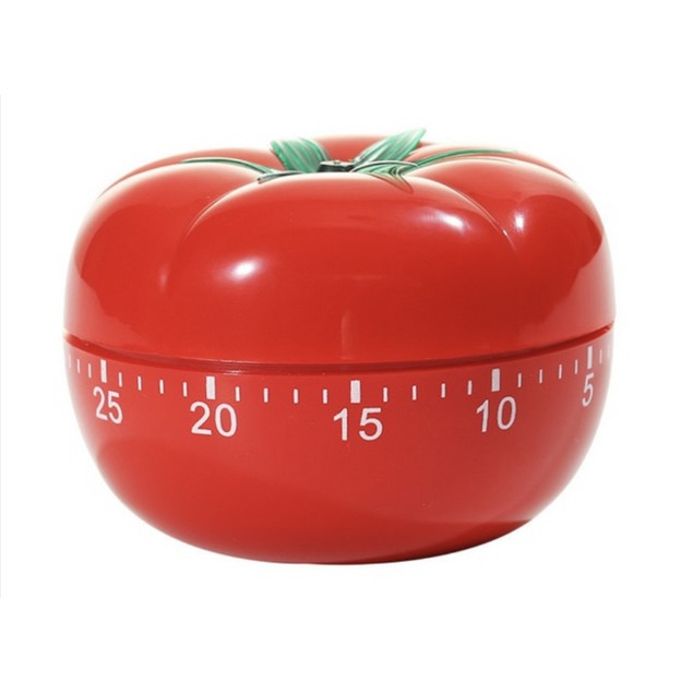 Pomodoro Focus Timer With A Mechanical Countdown Alarm
