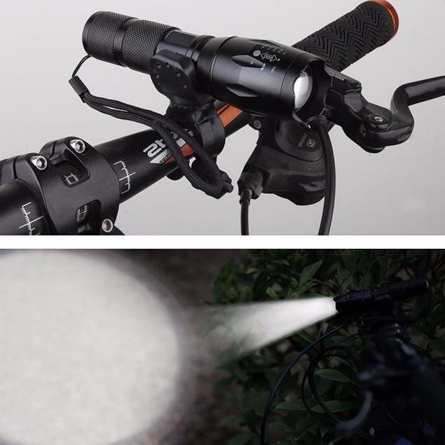 X800 Flashlight Military Torch G700 SkyWolfeye +Battery Charger+Battery