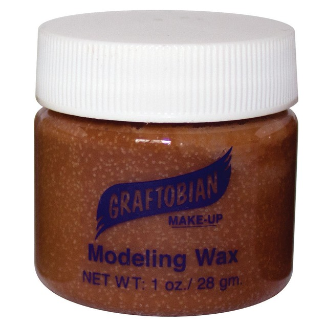Medium Brown Flesh - Modeling Wax 1oz.