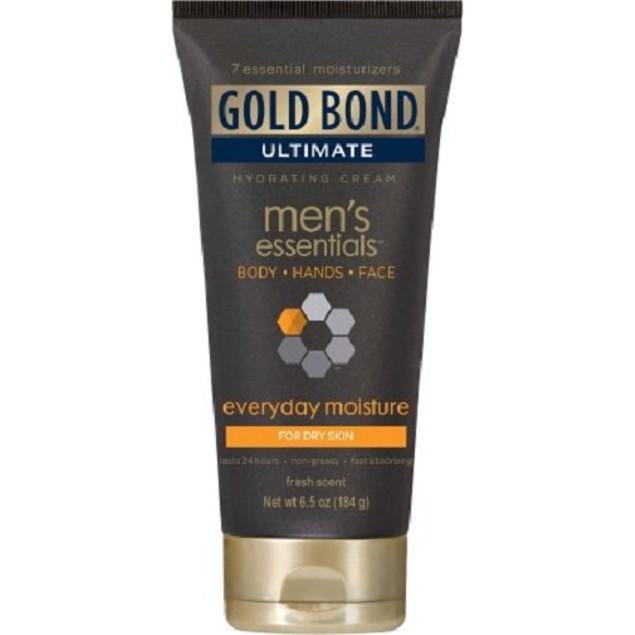Gold Bond Men's Essentials Everyday Moisture Hydrating Cream