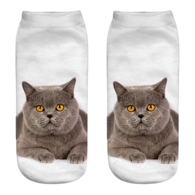 Casual Cotton Socks 3D Printing Medium Socks Cartoon Socks Sports Socks o