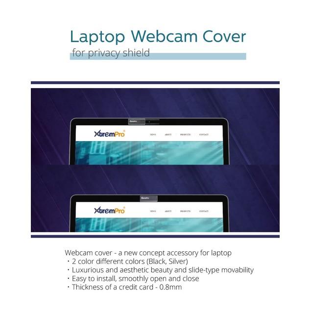 Webcam Cover Privacy Shield for PC Laptop Thin Camera Blocker