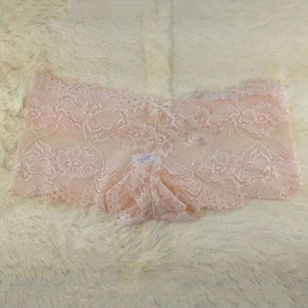 10 Pcs Sexy Women Transparent Lace Seamless Briefs