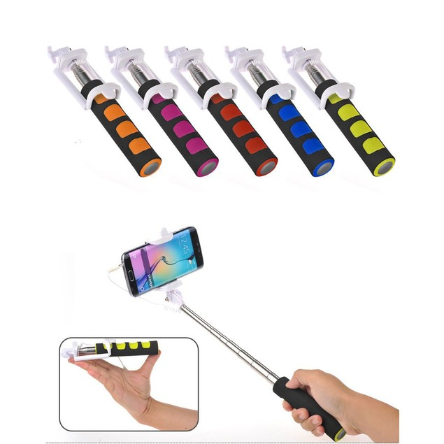 Collapsible Cushioned Selfie Stick
