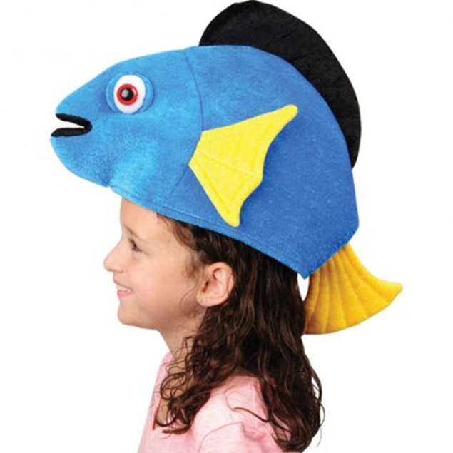 Blue Tang Fish Hat Finding Dory Costume Child Adult Accessory Movie