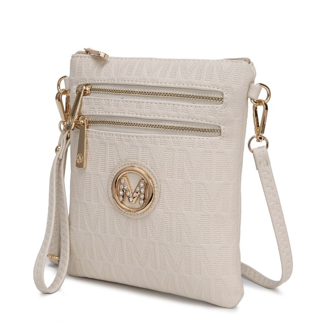 MKF Collection Andrea Milan M Signature Crossbody by Mia K