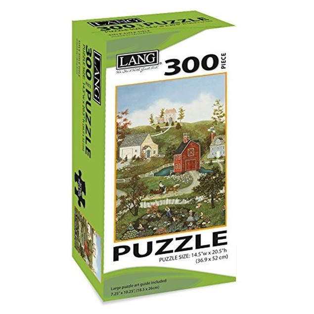 Village On The Bay 300 Piece Puzzle, 300 Piece Puzzle by Lang Companies