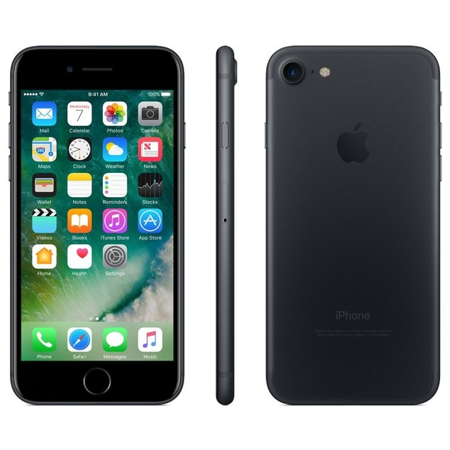 Apple iPhone 7 128GB iOS Unlocked,Black(Scratch and Dent)