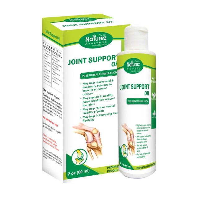 Naturez Ayurveda Joint Pain rubbing Oil --Powerful Pain Relief oil