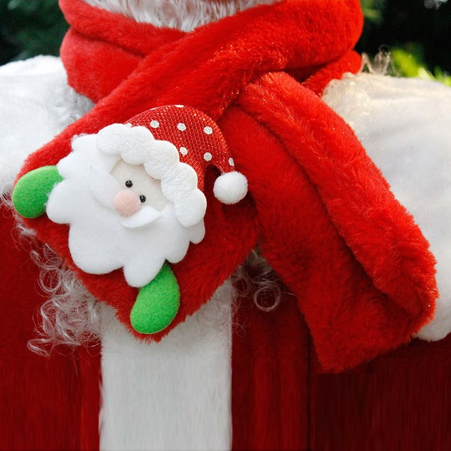 Christmas Soft Neck Wrap Winter Warm Children Adult Scarf Scarves