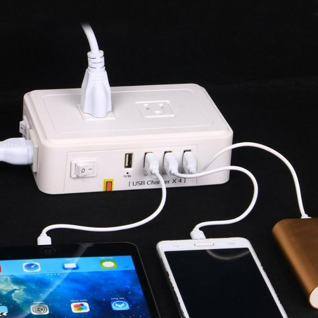 Mix Master Charging Hub For AC And USB Outlets