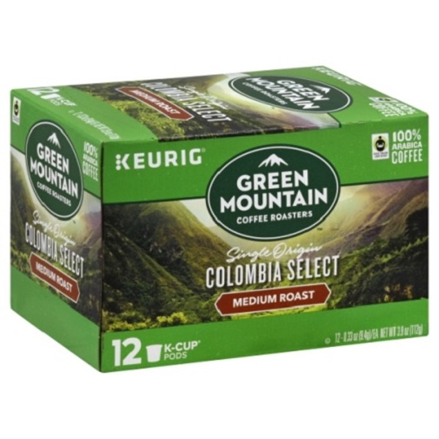 Green Mountain Coffee Colombian Fair Trade Select Keurig K-Cups