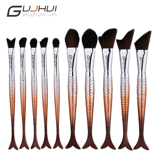 10PCS  Make Up Foundation  Blush Cosmetic Concealer Brushes 95