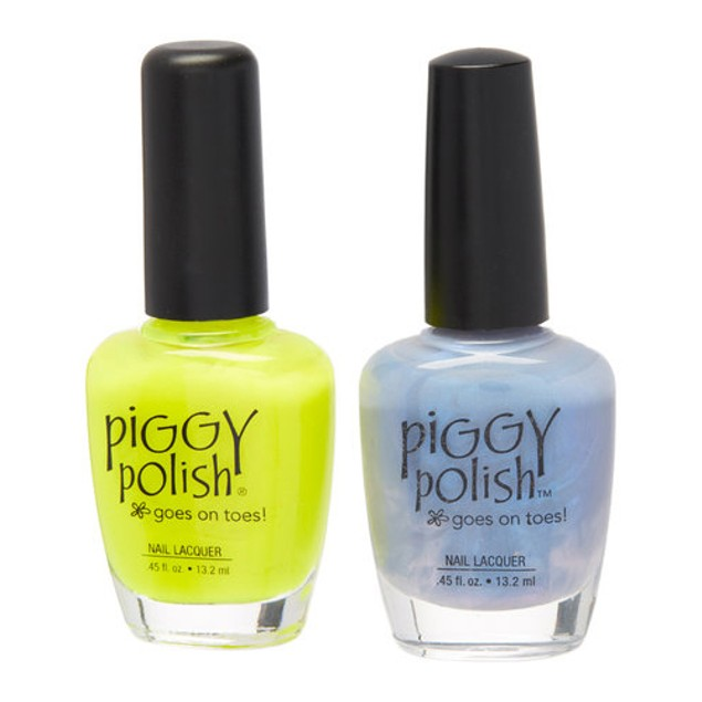 Piggy Polish 2 pk, Blue Me Away & You Had Me At Yellow