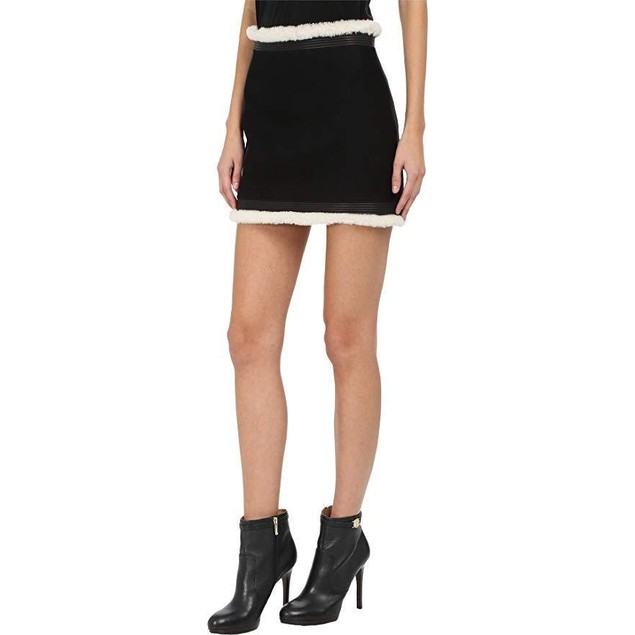 DSQUARED2 Women's Big Chill Mini Skirt Black 44 (US 28/29)