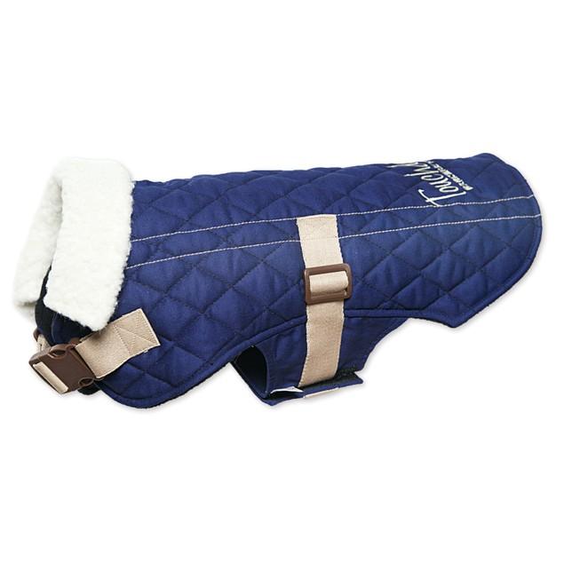 Touchdog Original Sherpa-Bark Designer Fashion-Forward Dog Coat