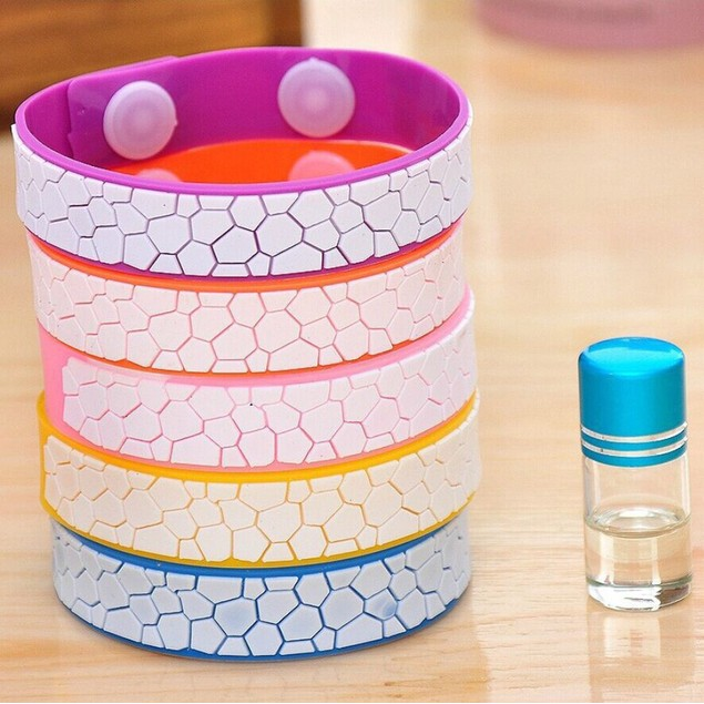 Water Cube Anti Mosquito Bug Wrist Band Bracelet Insect Net Pest Bugslock