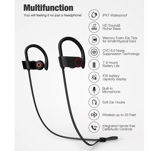 Sports Headphones with Mic