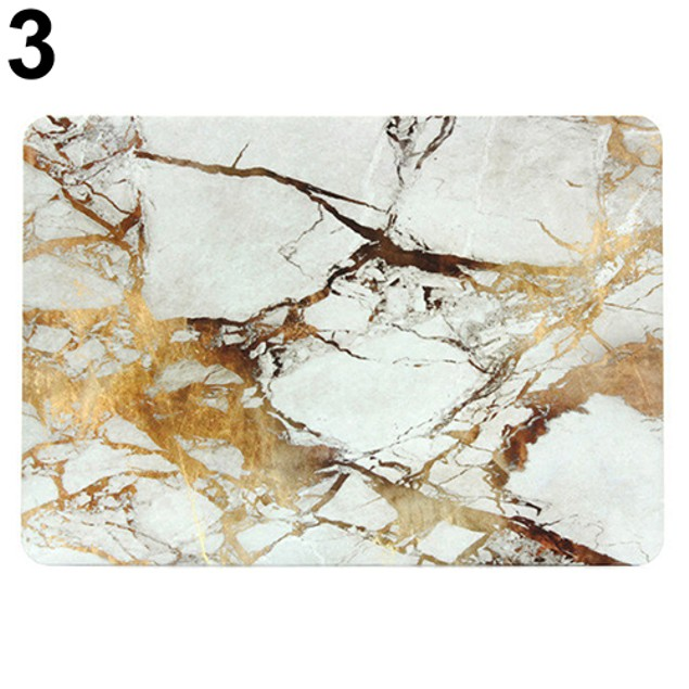 Marble Texture PC Protective Case Cover Shell for MacBook Air Pro Retina
