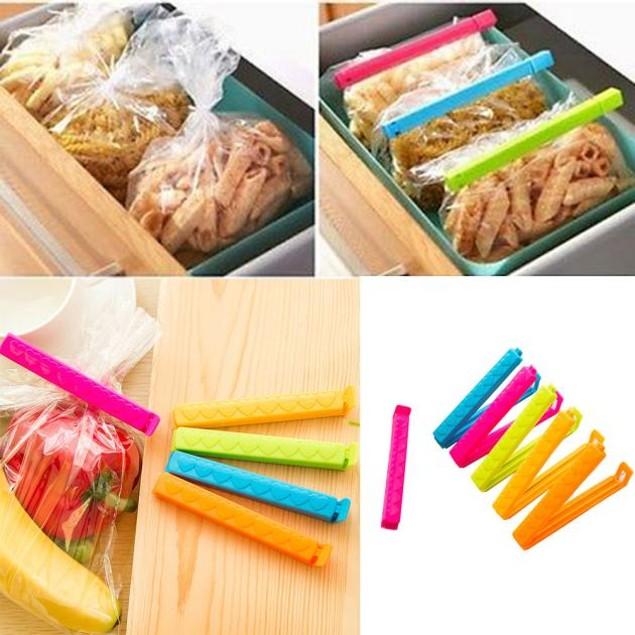 5Pcs Kitchen Storage Food Seal Sealing Bag Clips Sealer Clamp Plastic Tool