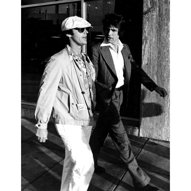 Jack Nicholson with Warren Beatty Poster