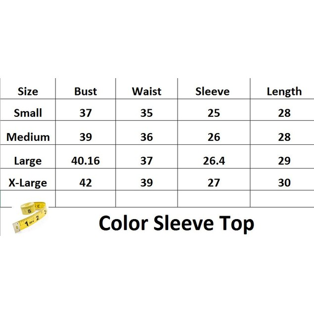 Color Sleeve Top