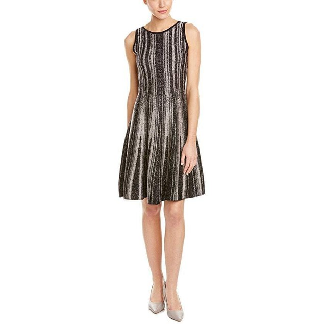 NIC+ZOE Women's Northern Light Twirl Dress Multi Dress SM (US 4-6)