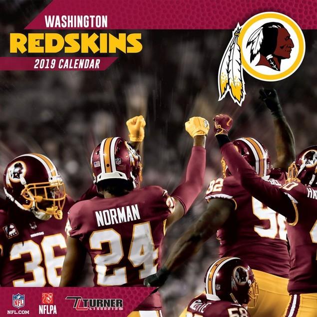 Washington Redskins Mini Wall Calendar, Washington Redskins by Calendars