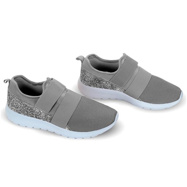 Women's Lightweight Memory Foam Laceless Sneakers