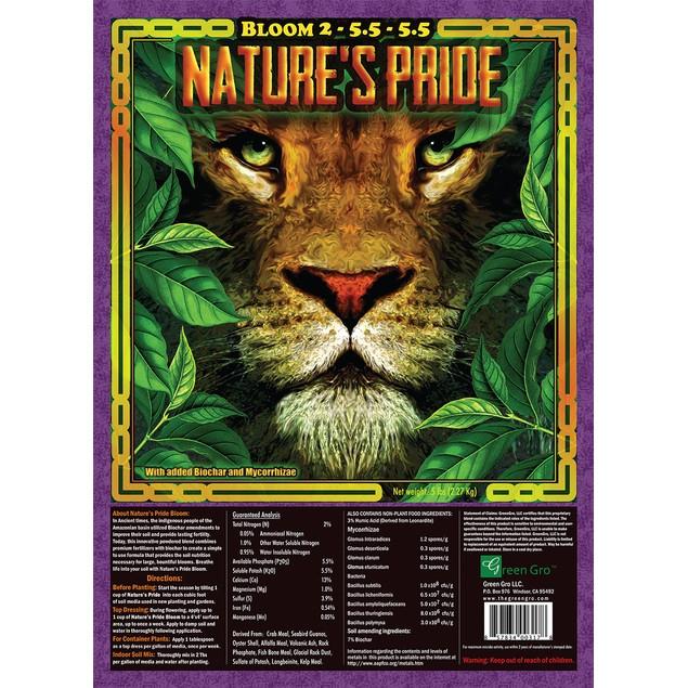 Nature's Pride Bloom Fertilizer, 5 lbs