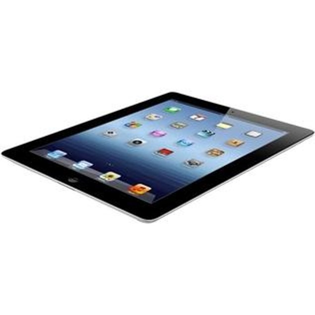 Apple iPad 3 64GB MC707LL/A Bundle (Tempered Glass, Charger, Case)