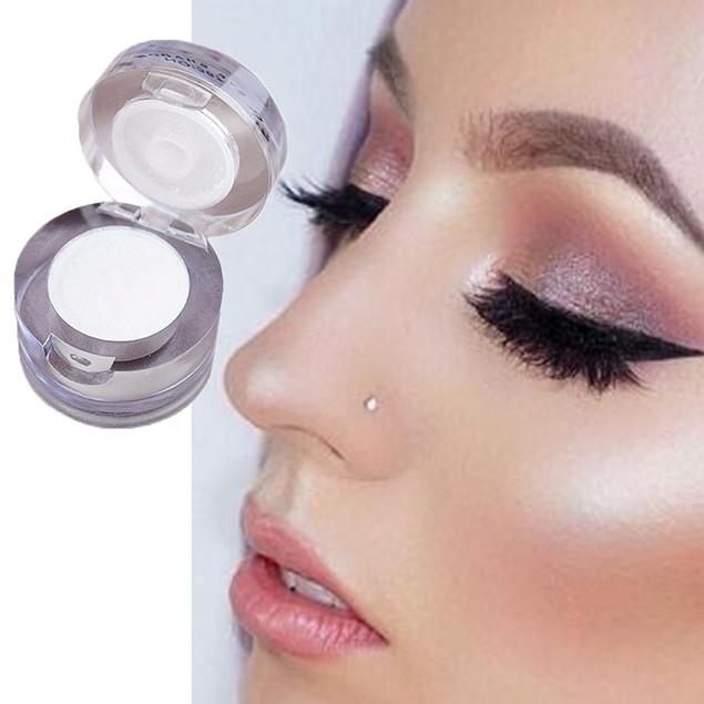 Women Long Lasting Single Eyeshadow Shimmer Powder Face Highlighter Makeup