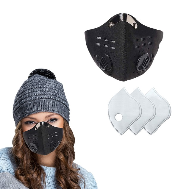 Reusable Dust Proof Mask With 3 Filters