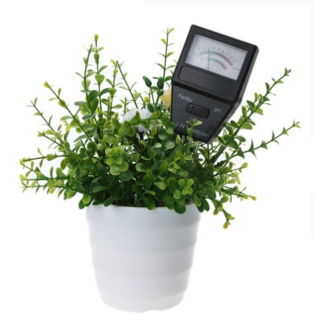 2 in 1 pH Meter & Fertility Tester Soil Analyzer with 3 Probesing Tool