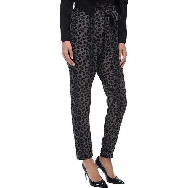 Vivienne Westwood Women's Kung Fu Pant Grey/Black Leopard 42 (US 6) X