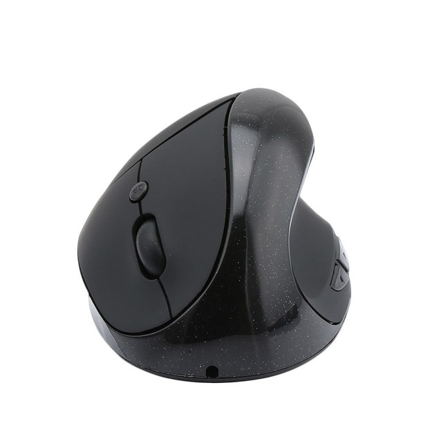 1600DPI Wireless Vertical Rechargeable Mouse Mice with Built in Battery