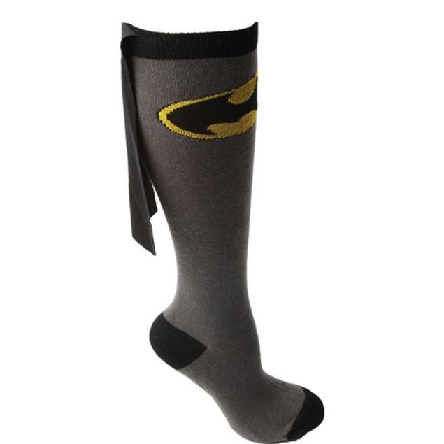 Batman Knee High Caped Socks (Pair)