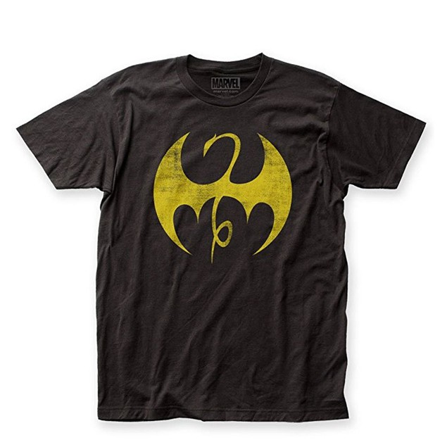 Iron Fist Distressed Logo Shirt Danny Rand Marvel Netflix Defenders
