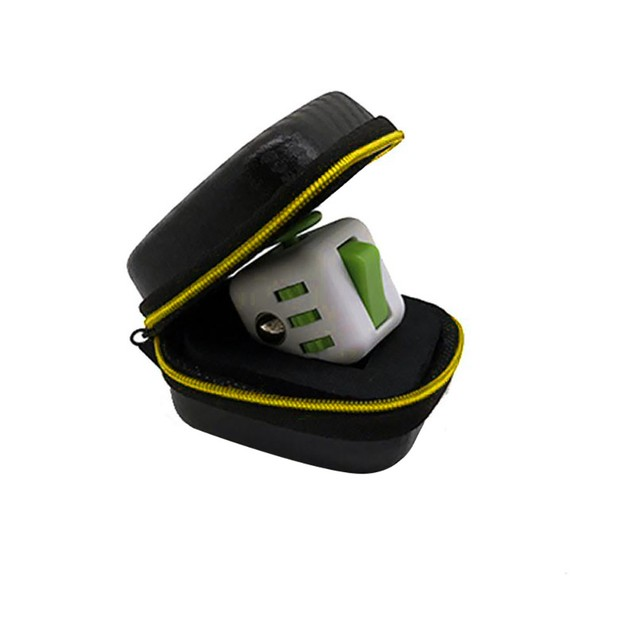 For Fidget Cube Anxiety Stress Relief Focus Dice Bag Box Carry Case Packet