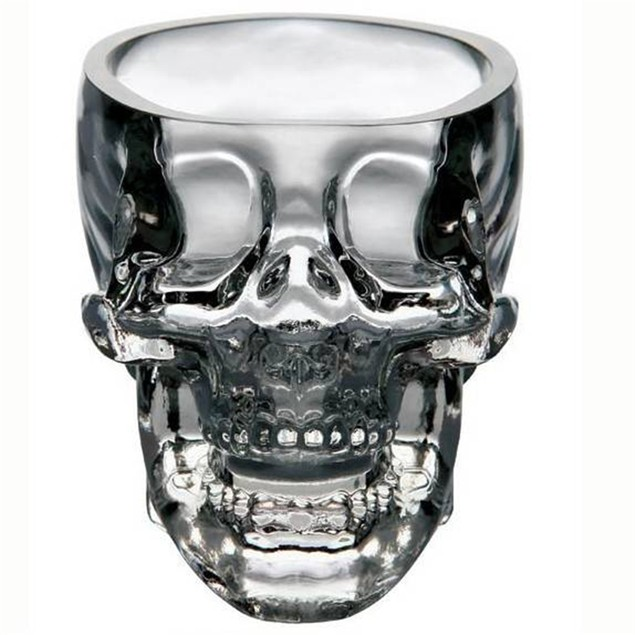 3D Crystal Skull 75ML Whisky Glass Beer Cup