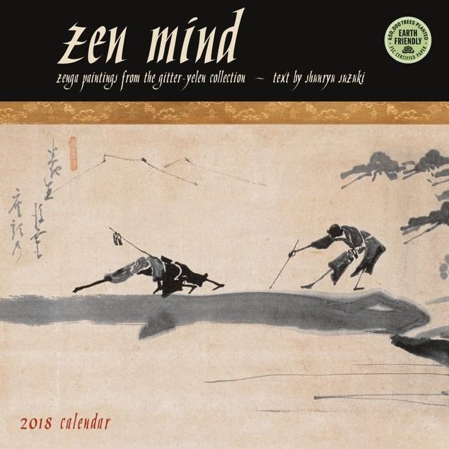 Zen Mind Wall Calendar, More Inspiration by Amber Lotus