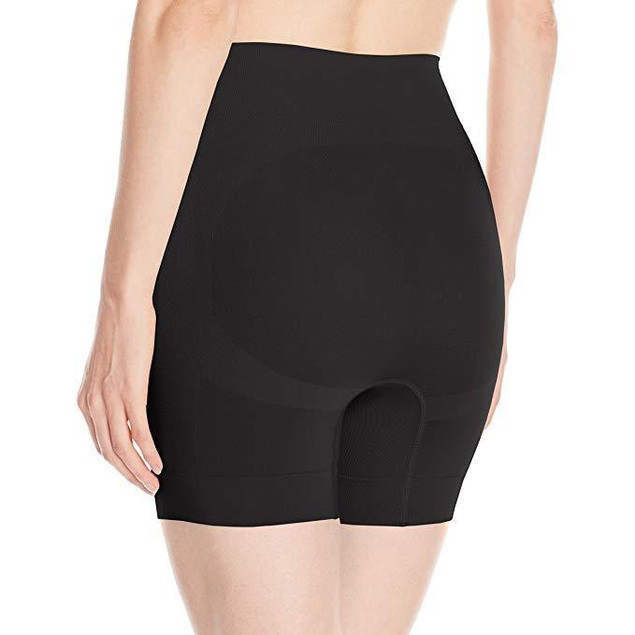 HUE Women's Made to Move Seamless Shaping Short, Black, Sz S