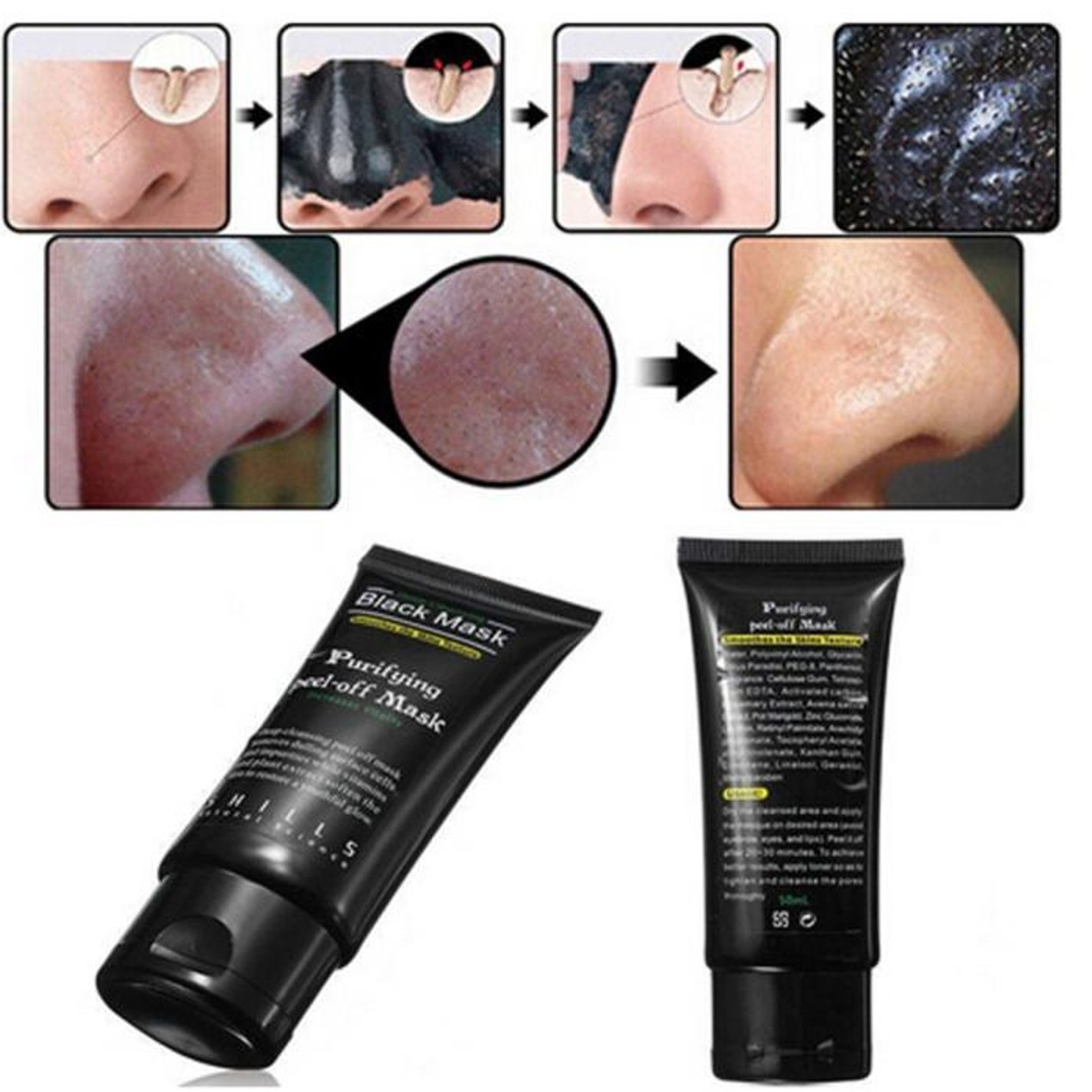 ... Black Mud Cleansing Face Mask Remove Blackhead Facial Mask