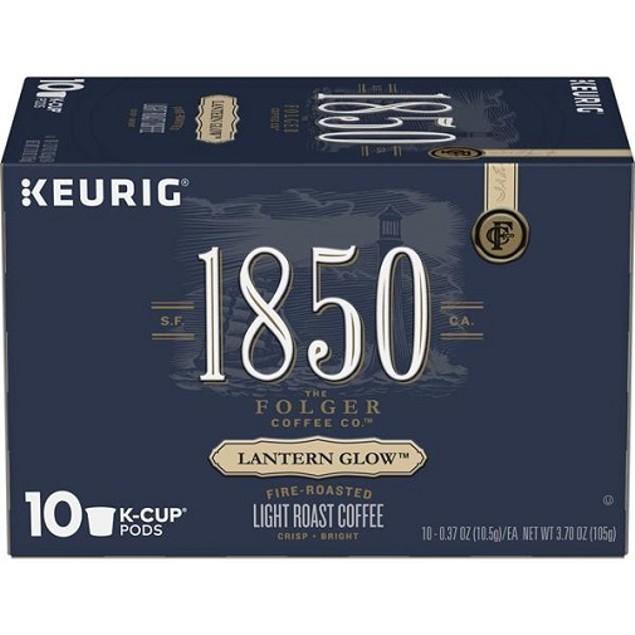Folgers 1850 Lantern Glow Coffee K Cups 2 Box Pack