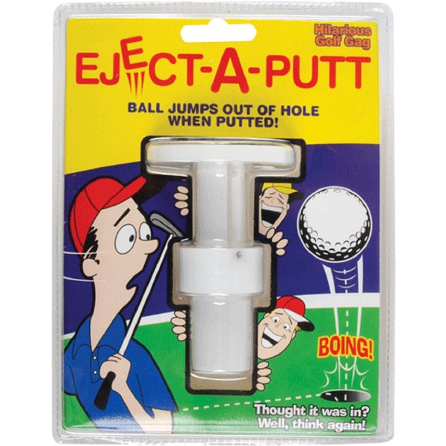 Pop-A-Putt Golf Joke Eject Prank Funny Gag Golfing Putting Play Game Humor