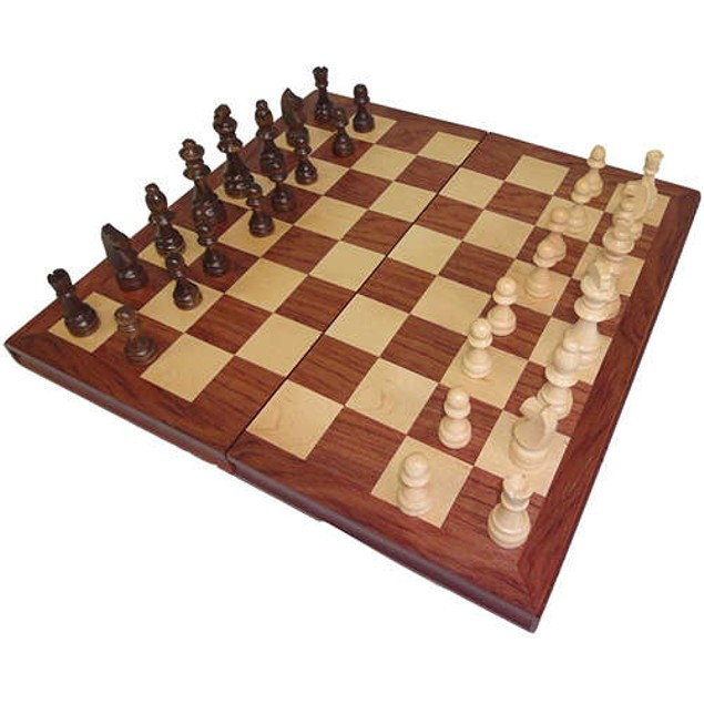 Large Wooden Chess Set,  by BEAUTY
