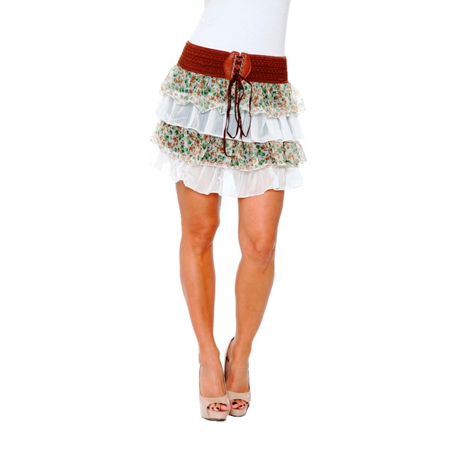 Julie Floral Skirt - 4 Colors